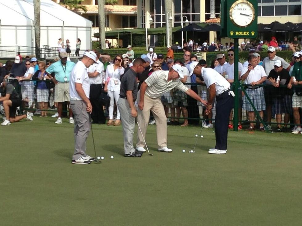 stricker tiger putting