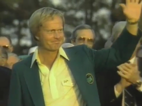 Nicklaus green jacket 86