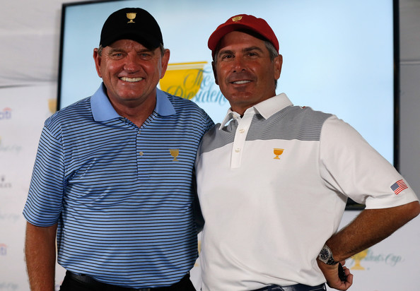 Nick Price and Fred Couples (Courtesy: Zimbio.com)