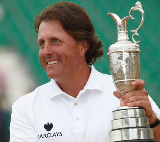 Phil Mickelson (Courtesy: Zimbio.com)
