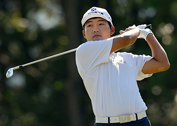 Kang Sung-hoon won today in Korea. (Courtesy: OneAsia Golf)