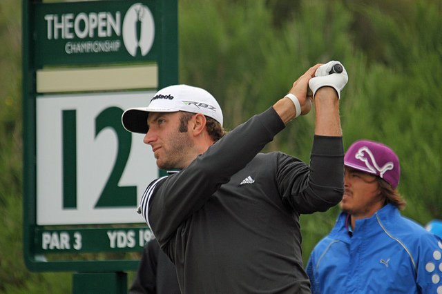 Defending champion Dustin Johnson. (Courtesy TourProGolfClubs.com)