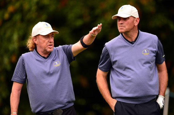 Jimenez and Bjorn (Courtesy: Zimbio.com)