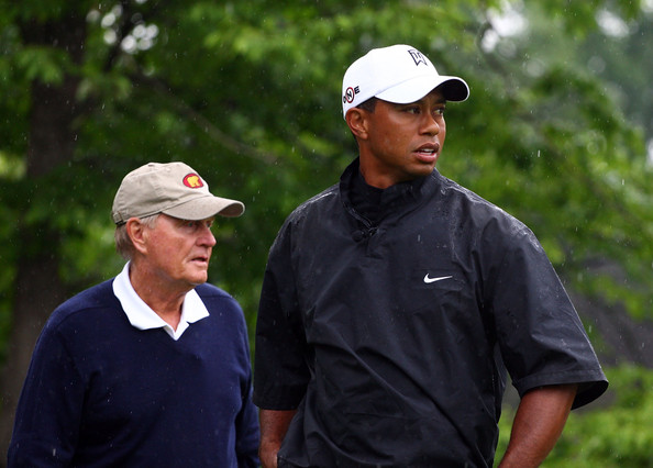 Jack Nicklaus and Tiger Woods (Courtesy: Zimbio.com)