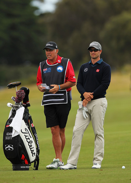 Steve Williams and Adam Scott (Courtesy: Zimbio.com)