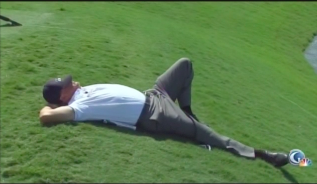 This pretty much sums up Phil's week at Doral.