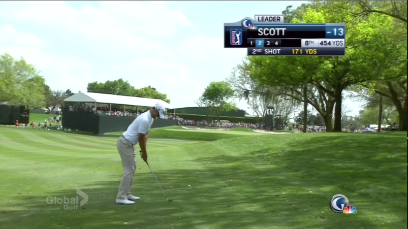 Don't understand the point of the new NBC/Golf Channel graphics, telling me the shot number more than once.