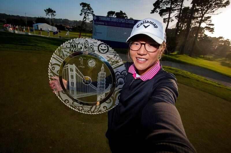 Lydia Ko wins her first event as a professional. (Courtesy: LPGA on Twitter)