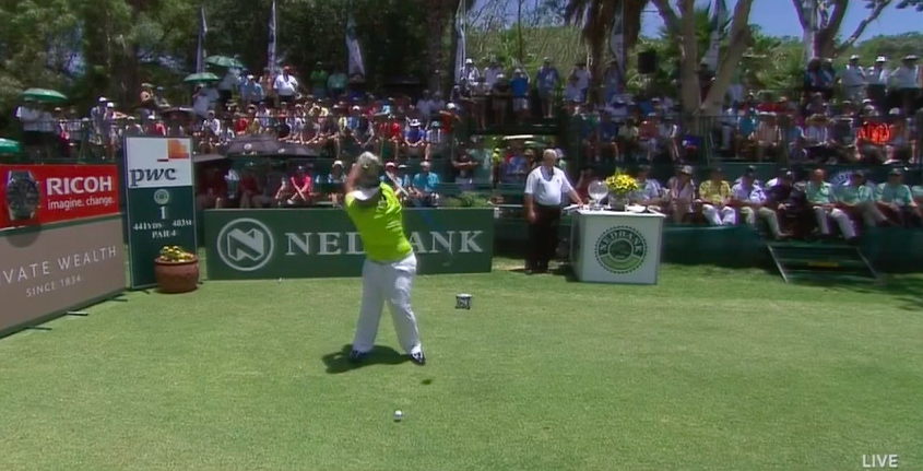 Look how far past parallel Kiradech is.