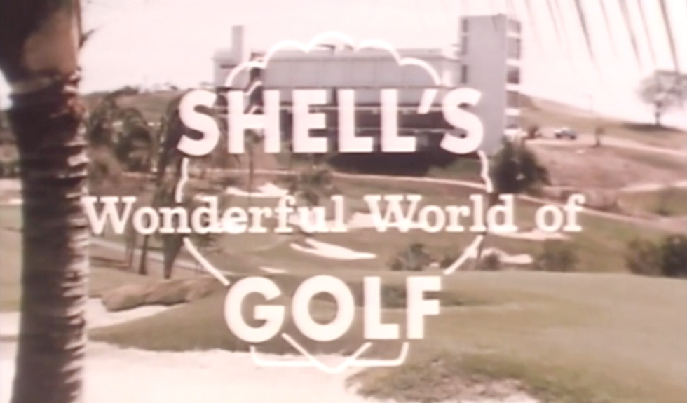Shell's Wonderful World of Golf logo