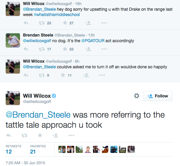 The Brendan Steele/Will Wilcox beef. (Courtesy: Brendan Porath/SB Nation)