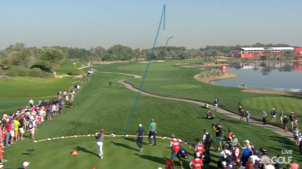 New angle on 18, and Rory's perfect to show it off.