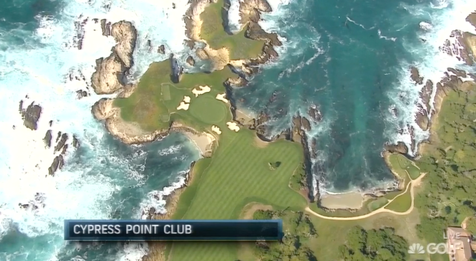 The time when Golf Channel showed us the course we actually want to see.