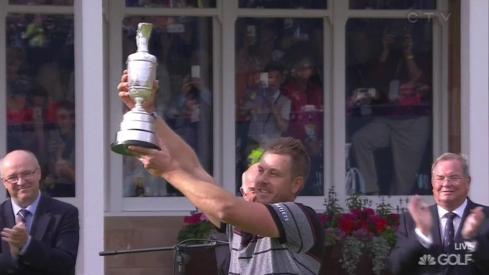 Stenson trophy