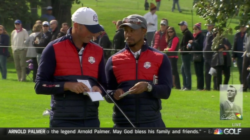 Tiger and Matt Kuchar.