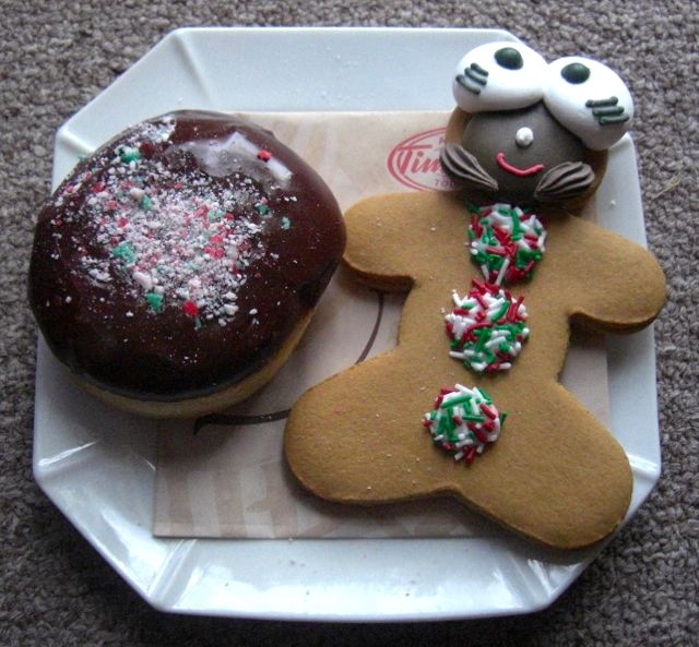 An example of the Tim Hortons Gingerbread Men (Source: My Adorable Small Town Life)